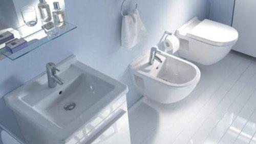 Weißes Badezimmer - ©Duravit