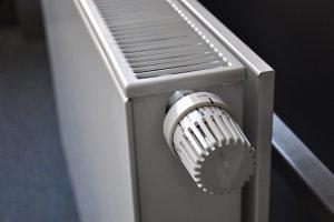 Heizung mit Thermostatkopf