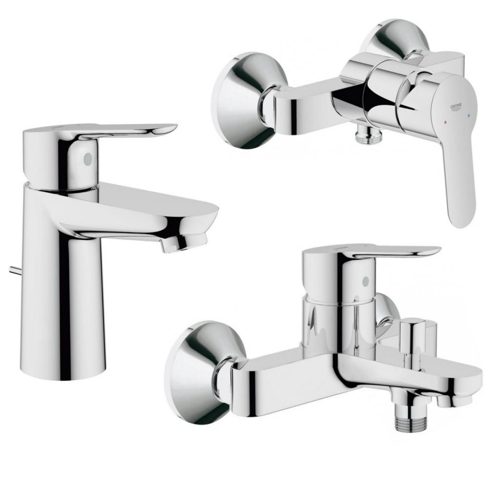 grohe bauedge mitigeur bain douche lavabo inverseur pour 2 sorties de grohe acheter. Black Bedroom Furniture Sets. Home Design Ideas