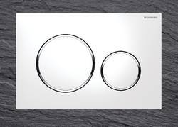 Geberit Sigma20 Plaque de commande WC Blanc (115882KJ1) – Bild 2