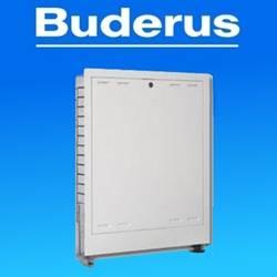 Verteilerschrank Unterputz Buderus OptiMo für Fußbodenheizung Tiefe 110-160 mm