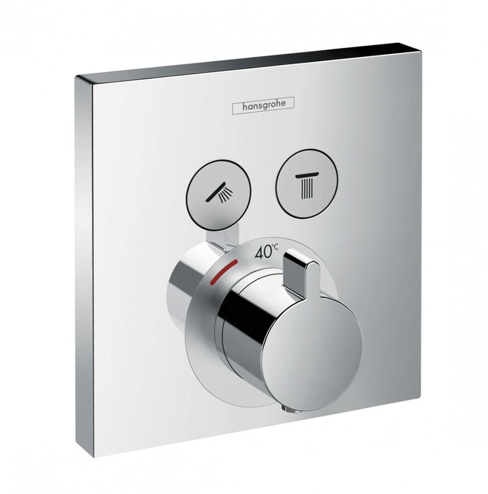 hansgrohe mitigeur thermostatique showerselect encastr 2. Black Bedroom Furniture Sets. Home Design Ideas
