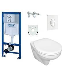 Grohe Rapid SL Bâti-support WC-Mural Plaque commande Abattant amortisé 38528001 – Bild 1