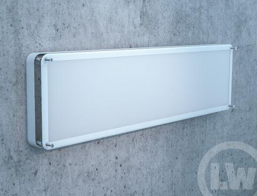 Wandmontagerahmen LED Wand- / Pendelleuchte 1200