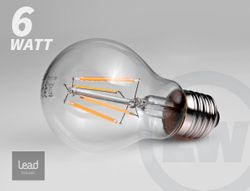 LEAD Energy LED Lampe E27 6W - Filament