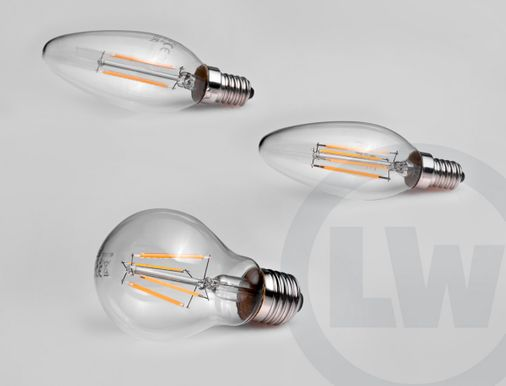 LED Filament Set von LEAD Energy