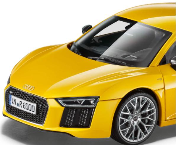 Audi R8 V10 Plus Coupe Vegasgelb 1:18  – Bild 2