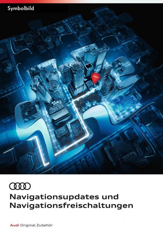 Audi Navigationskartenmaterial