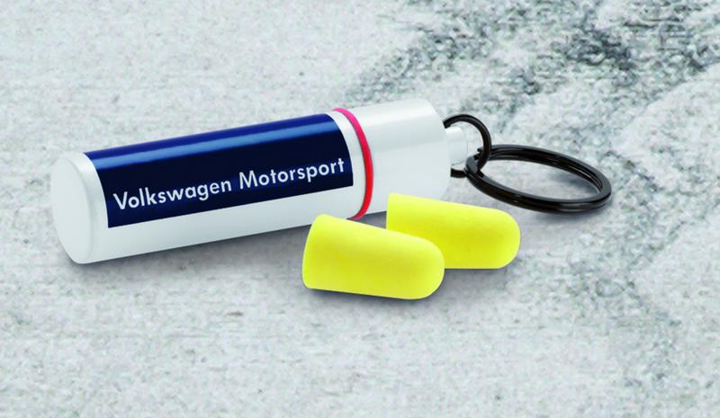 VW Motorsport Ohrstöpsel