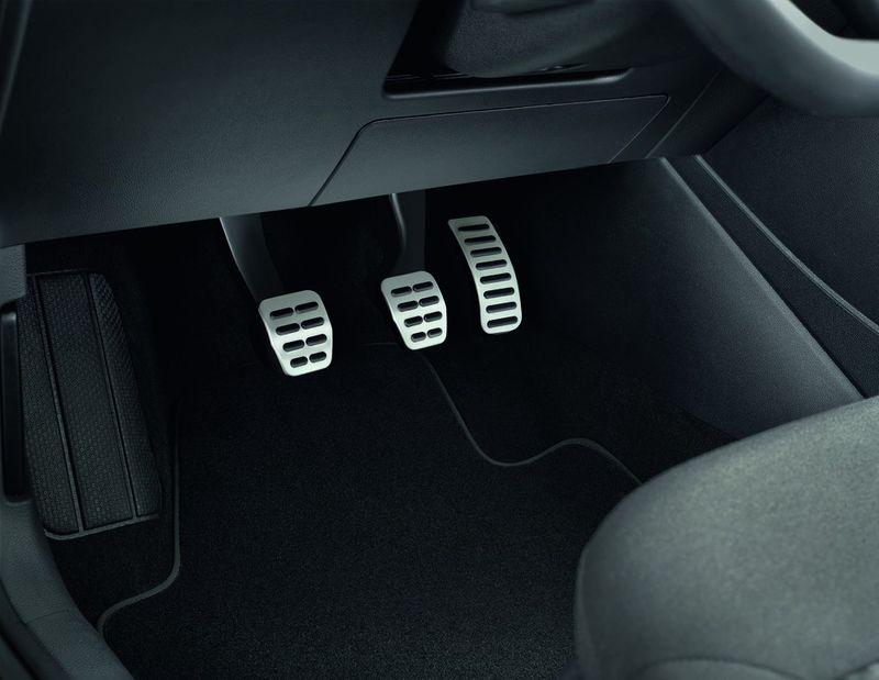 VW Beetle Pedalkappen - Aluminium – Bild 1