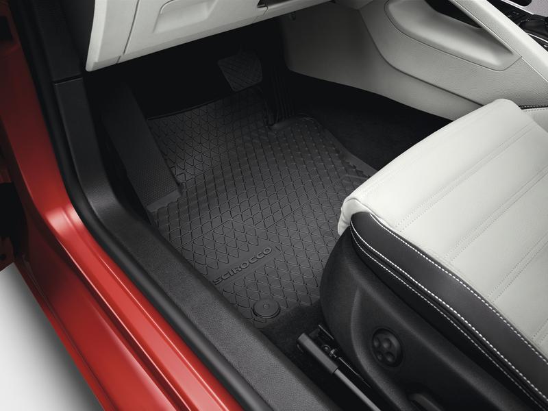 VW Scirocco Allwetterfußmatten - vorne