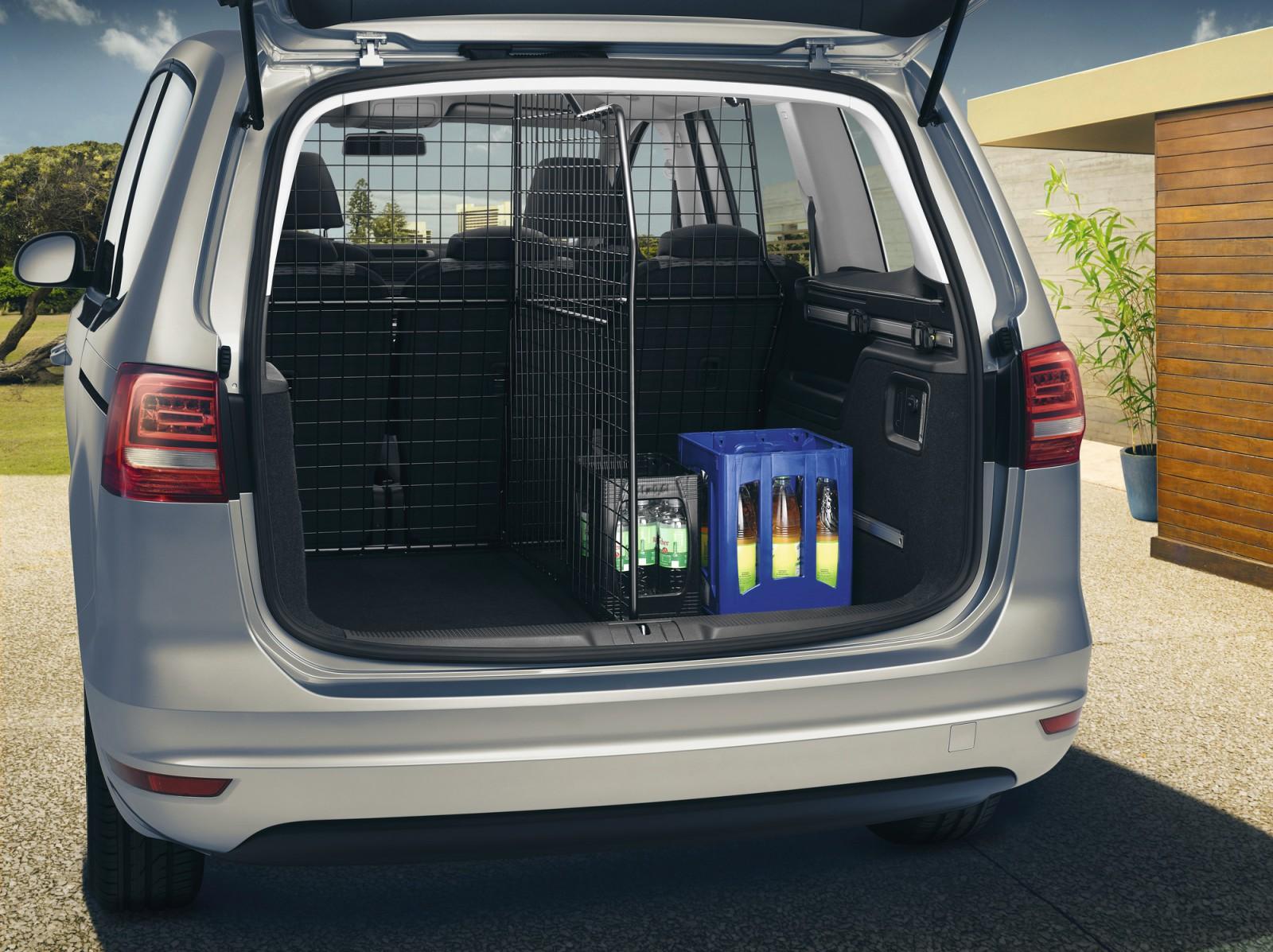 trenngitter kofferraum vw sharan original volkswagen. Black Bedroom Furniture Sets. Home Design Ideas