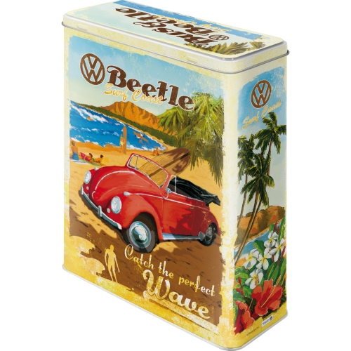 VW Bulli, Beetle - Ready for the Summer, Ready for the Beach Vorratsdose XL – Bild 3