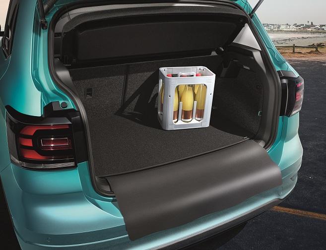 T-Cross Kunststoff Gepäckraumwendematte für Fahrzeuge mit variablem Ladeboden – Bild 1