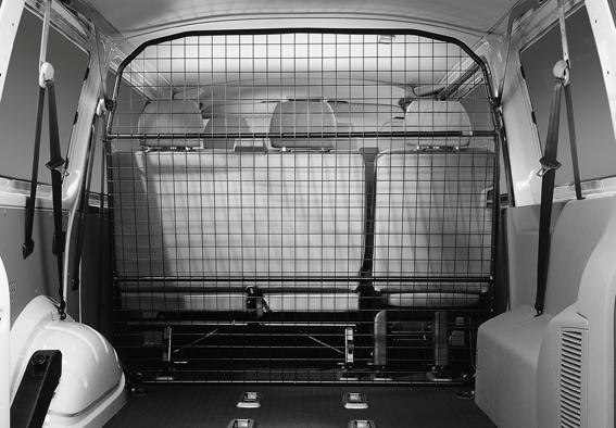 Volkswagen Trenngitter T5 T6 Multivan 5-Sitzer