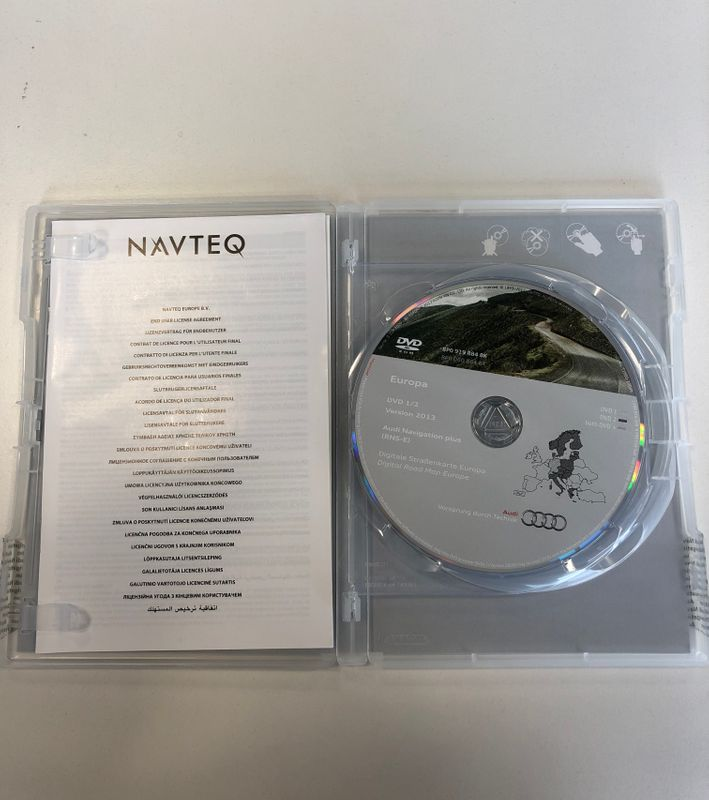 Europa Audi Navigation plus (RNS-E) CD Datenträger – Bild 2