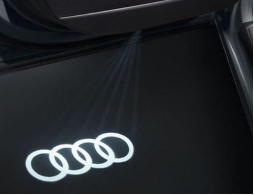 Audi Original Einstiegs-LED Ringe (schmaler Stecker) 4G0052133G