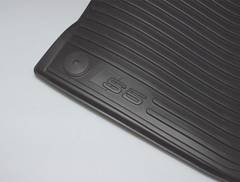 Audi original Allwetterfußmatten vorn für Audi S5 Typ 8T