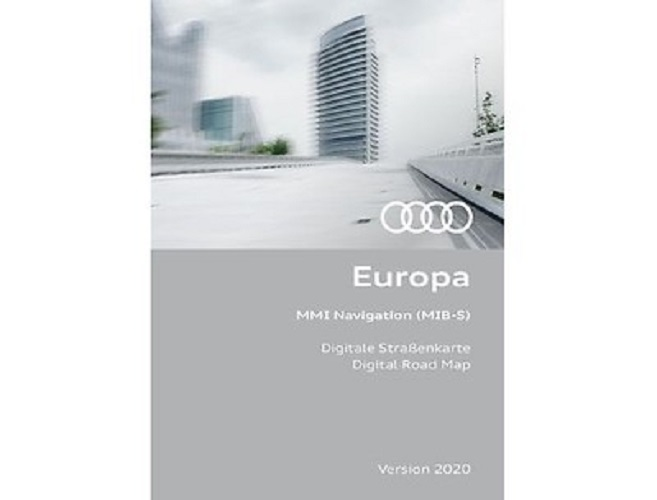 Navigationsupdate Europa Version 2019 Audi A3 2013 - 2016 MIB-S