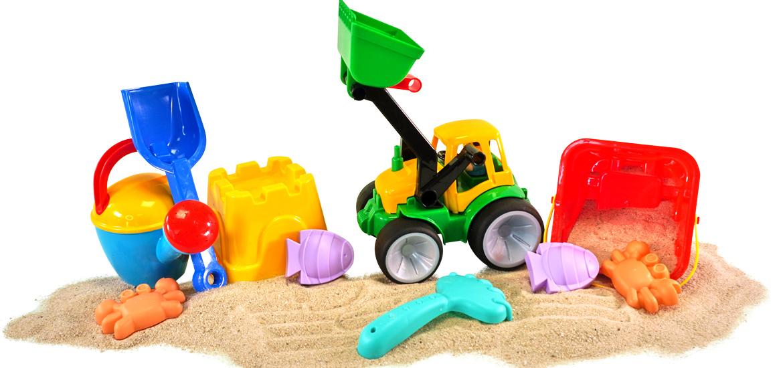 Sandspielzeug: Bauen, Matschen & Spielen