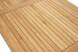 Teak Massivholz Gartentisch MEMPHIS 150x78x80 von PLOSS Bild 4