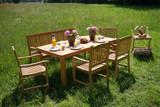 Teak Massivholz Gartenstuhl stapelbar NEW HAVEN von PLOSS Bild 2