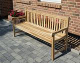 ECO Teak Massivholz Gartenbank COVENTRY 180 cm von PLOSS 001