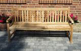ECO Teak Massivholz Gartenbank COVENTRY 180 cm von PLOSS Bild 2