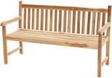 ECO Teak Massivholz Gartenbank COVENTRY 180 cm von PLOSS Bild 1