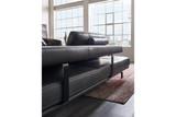 HUKLA Design Plansofa Ecksofa Couch HP1804 in Stoff + Leder Bild 4