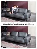 HUKLA Design Plansofa Ecksofa Couch HP1804 in Stoff + Leder Bild 5