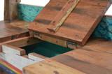 Unikat Massivholz Teak Bootsbank SEASIDE  von PLOSS Bild 6