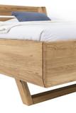 Massivholz Bett HOVER 180x200 Wildeiche geölt Bild 3