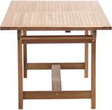 Teak Massivholz Auszugstisch NASHVILLE 160/210x90 cm von PLOSS Bild 5