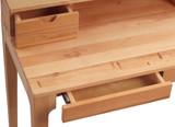 Massivholz Schreibtisch OSKAR in Wildeiche Bild 2