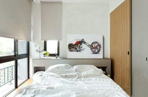 Harley Öl-Wandbilder Chopper Modern Bunt Handgefertigt 3D Optik 60 90 Bild 3
