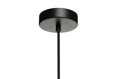 Deckenleuchte Lampe Glas Hängeleuchte Pendelleuchte Schwarz Glas Lila Angebot Bild 7