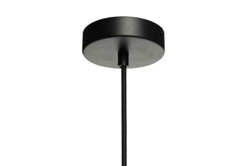 Design-Pendelleuchte Glashängeleuchte Deckenlampe Grau Kupfer Glas Goldgrau Bild 8