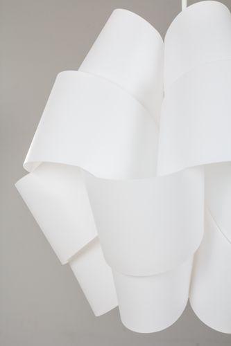 Hängelampe Bouquet Grau Weiß Hängeleuchte Lampe Deckenlampe Wohnzimmer Bild 4