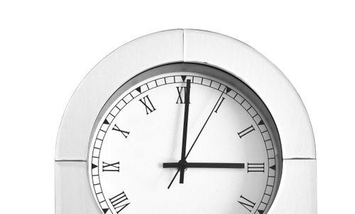 Spiegel Uhr Standuhr Dekouhr Wohnzimmer Dekoration 004
