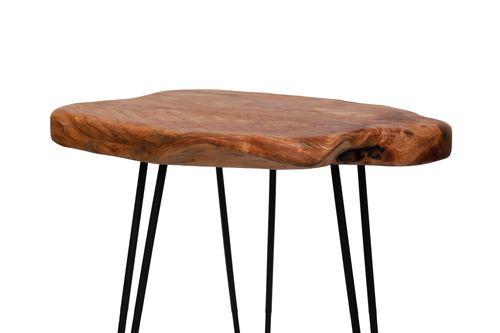Beistelltisch Zedernholz-Tischplatte Serviertisch Designer Couchtisch Teetisch Bild 6