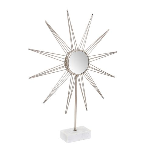 Sonnenspiegel Deko Dekoration Tischdeko Marmor 003