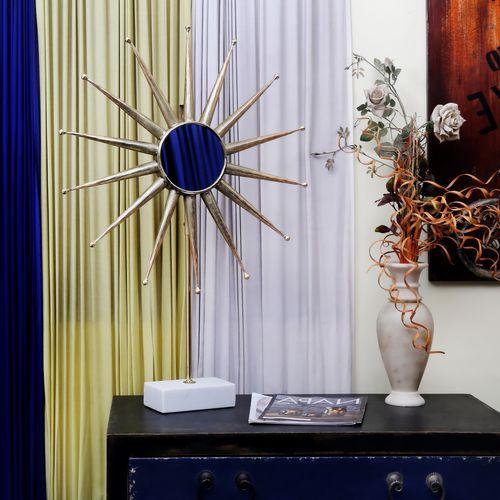 Sonnenspiegel Deko Tischdeko Skulptur Wohnzimmerdeko Bild 4