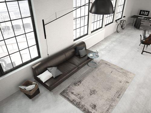 Flachflor Teppich Modern Flachgewebe Retro Vintage Teppiche Anthrazit Wohnzimmerteppich Esszimmerteppich Teppichläufer Flur-Läufer Verschied. Farben 004