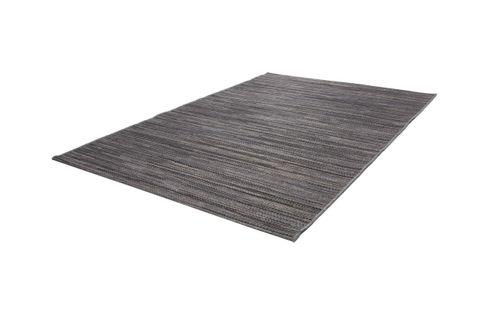 Teppich Sisal Optik Indoor Outdoor Streifen Design Geflochten Grau Braun Schwarz Wohnzimmerteppich Esszimmerteppich Teppichläufer Flur-Läufer Verschied. Farben 002