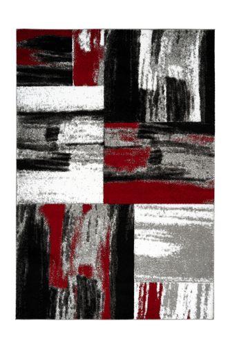 Designer Teppiche Konturenschnitt Modern Teppich Kasten Design Rot Wohnzimmerteppich Esszimmerteppich Teppichläufer Flur-Läufer Verschied. Farben 002