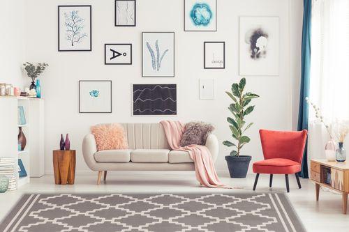 Rauten Muster Teppich Modern Taupe Elfenbein 3D Effekt Teppiche Wohnzimmerteppich Esszimmerteppich Teppichläufer Flur-Läufer Verschied. Farben 001