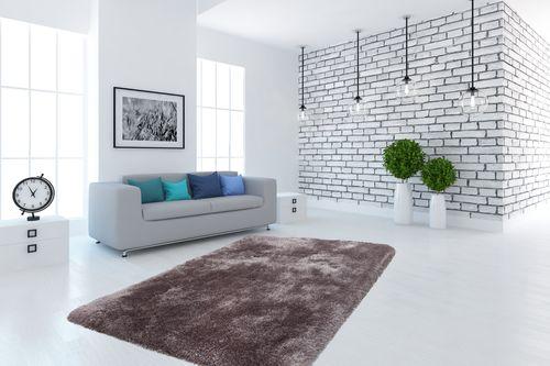 Hochflor Shaggy Teppiche Flauschig Modern Hochwertig Weich Teppich Wohnzimmerteppich Esszimmerteppich Teppichläufer Flur-Läufer Verschied. Farben 003