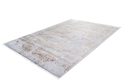 Teppich Modern Vintage Look Fransen Used Optik Ornamente Oriental Bunt Lila Wohnzimmerteppich Esszimmerteppich Teppichläufer Flur-Läufer Verschied. Farben 003