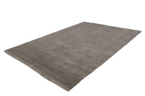 Teppich 100% Wolle Handgewebt Uni Design Wohnzimmer Grau Taupe Wohnzimmerteppich Esszimmerteppich Teppichläufer Flur-Läufer Verschied. Farben 003